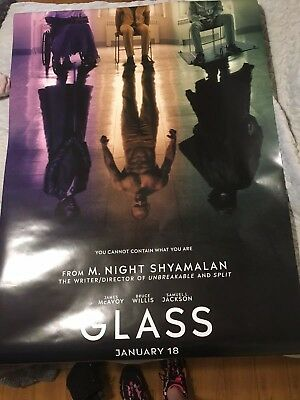 Glass 27 By 40 Double Sided Movie Poster