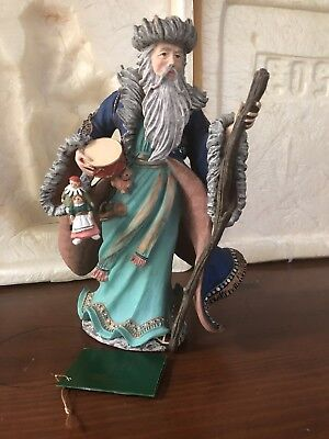 Duncan Royale MONGOLIAN Figurine History of Santa II Mint Condition