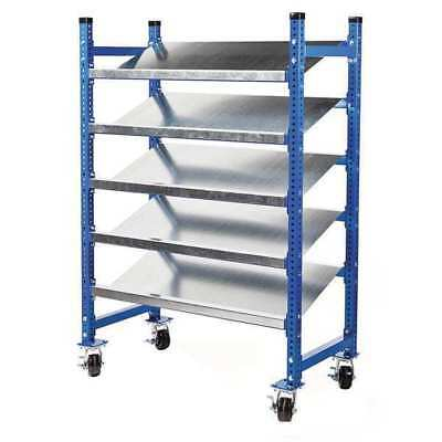Mobile Pick Tray Rack,52inW,28inD,72inH UNEX FLOW CELL FCMFWS52283