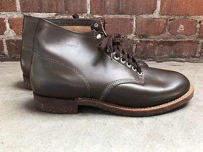Vintage 50s 60s Outdoorsman Size 13 Leather Work Motorcycle Boots Deadstock NOS
