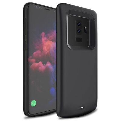 For Samsung Galaxy S9, S9 Plus, External Backup Battery Case Charging Cover USA
