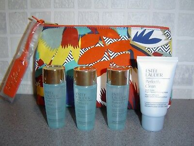Estee Lauder Perfectly Clean Toning Lotion 3x30ml &  Foam Cleanser 30ml