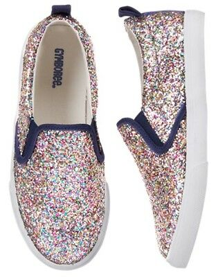 NWT Gymboree Cosmic Club Sparkle Sneakers shoes girls 10