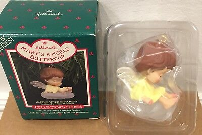 NEW 1988 BUTTERCUP - 1st in Series Mary's Angels - Hallmark Christmas Ornament