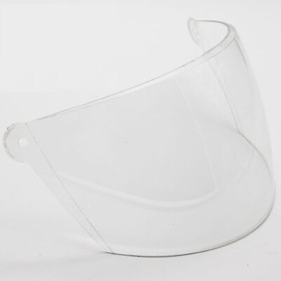 BYB 802 Motorcycle Helmet Glass Visor Full Open Face