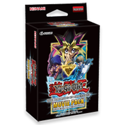 Yugioh Movie Pack 2018 Special Edition Booster Mini Box - 3 packs (English)