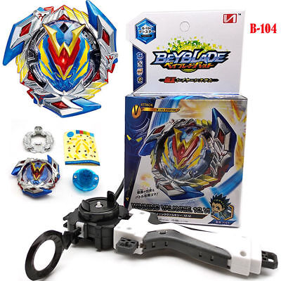 Beyblade Burst B-104 Starter Winning Valkyrie.12.VI With Launcher + Grip Toy US