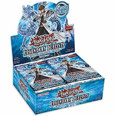 Yugioh Factory Sealed Legendary Duelists: White Dragon Abyss Booster Box 1st Ed