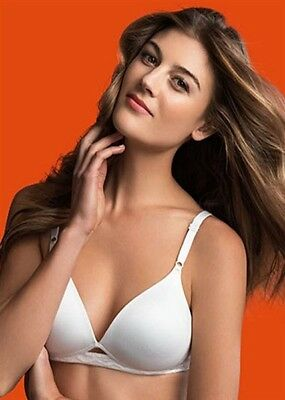 11a01a03df8ac NWTD Warner s Cloud 9 Full-Coverage Wire-Free Contour Lift Bra 1869 White  34A