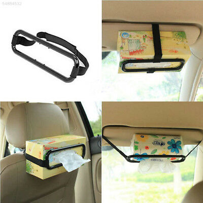 14BA New Car Tissue Box Holder Paper Sun Visor Seat Back Accessories Bracket