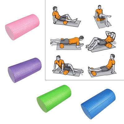 Yoga Foam Roller Massage Workout Rehab Physio Props Gym Pilates Fitness Therapy