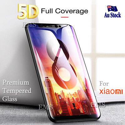 5D Full Coverage Xiaomi Mi 8 | A1 A2 | Note 5 Tempered Glass Screen Protector