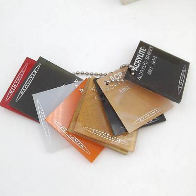 Vintage Acrylite Acrylic Sheet Selling Samples - Product of Cyanamid