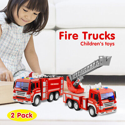 Boys Car Beds Fire Engine Bed Truck With Head Lights 359 00