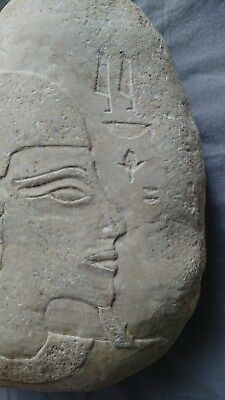 Unusual Egyptian Craved Stone