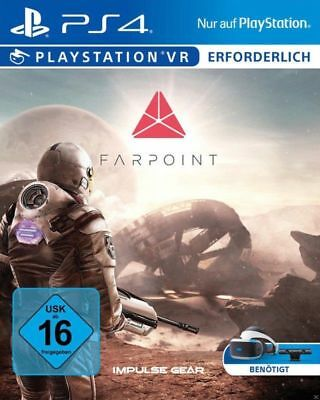 Farpoint (Sony PlayStation 4, 2017) GAME = BRAND NEW