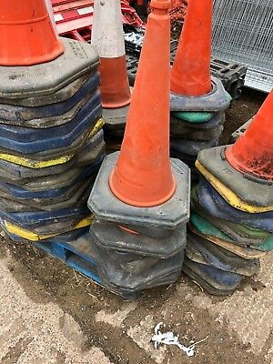 Traffic Cones - Varying Sizes and Colours