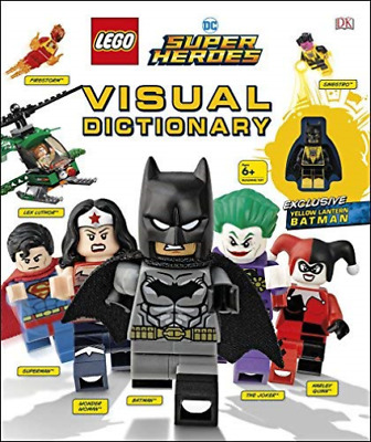 LEGO DC Super Heroes Visual Dictionary BOOKH NEW