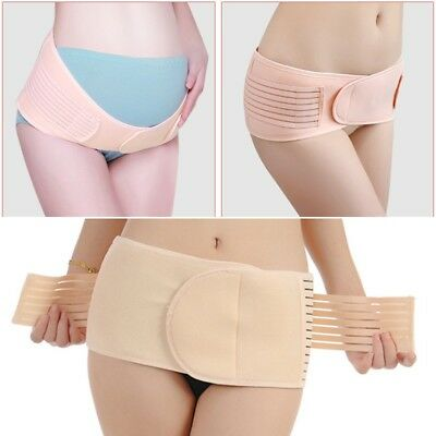 Women Postpartum Hip Belt Supports Waist Stomach Pelvis Girdle Slim Body Shaper