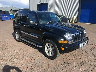56 (2006) 4WD. Jeep Cherokee Limited CRD. 69000 Miles. 4 Wheel Drive. Leather.