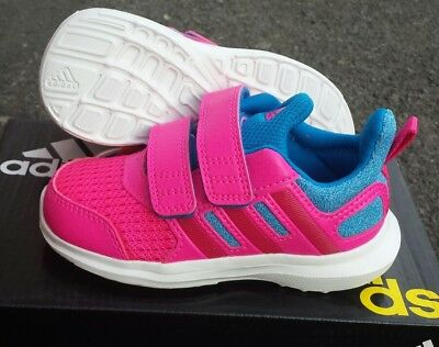 ba653f577536d Neuf Adidas Originals Enfant Fille Junior Baskets Rose Taille UK 5K - 9.5k