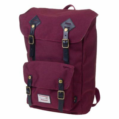 Doughnut American Vintage Cordura Wine Backpack One Size Red