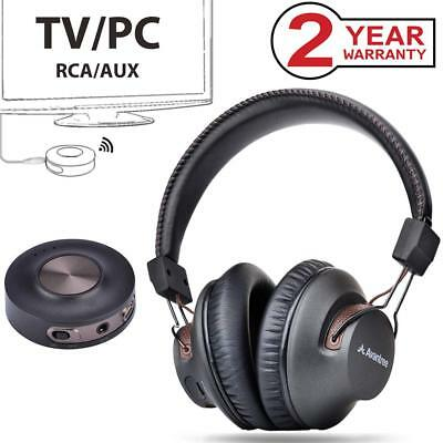 Avantree HT3189 Wireless Headphones for TV Watching, PC Game with Bluetooth