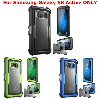 For Samsung Galaxy S8 Active Case, i-Blason Full Body Cover + Screen Protector