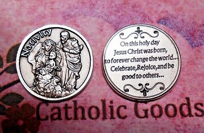 Holy Family - Nativity - On this Day - Pocket Token Coin