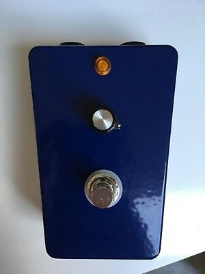 Boutique  Hand-Wired Germanium Fuzz Pedal - upcycled from a 70s cassette player!