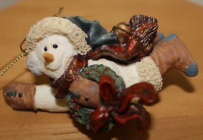 Boyds Bears & Friends - Chilly with Wreath
