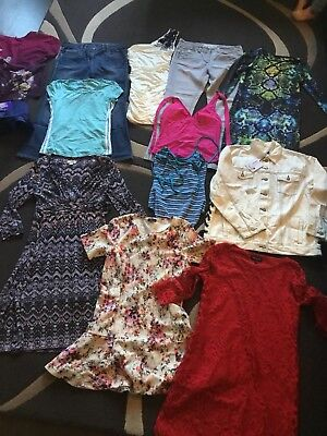 Ladies Size 12 Mix Clothing Joblot Bundle Dress Jeans Monsoon Next Warehouse Etc