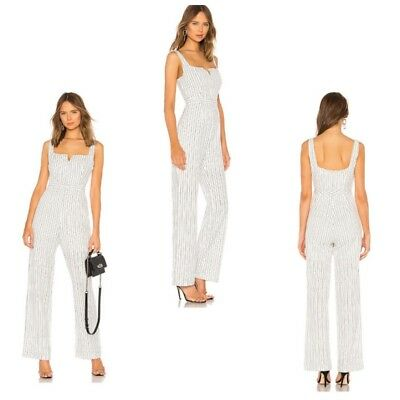 54853d17253 NEW NIGHTCAP EYELET Apron Jumpsuit Soldout! Revolve Size 2 Small S ...