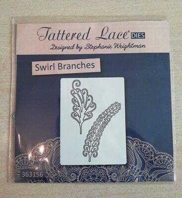 Tattered Lace Kaleidoscope Leaves L FREE UK P/&P D535 Stephanie Weightman