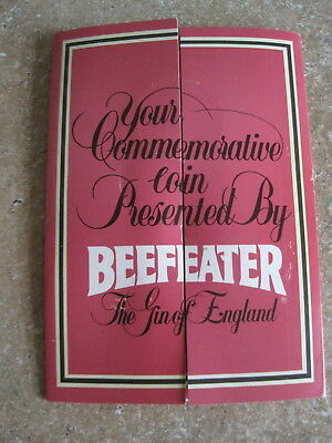 Beefeater 500th Anniversary Commemorative Coin Yeoman Warders Card Pack