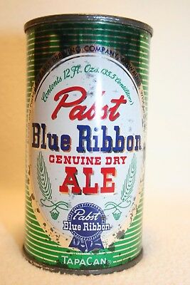 Pabst Old Genuine Dry Ale 12 oz. flat top- Pabst Brewing Company, Milwaukee, WI.