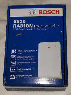 Bosch B810 Radion Receiver SD SD12 Bus Compatible Receiver New In Box