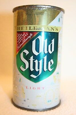Heileman Old Style Beer 12 oz flat top - G. Heileman Brewing Co., LaCrosse, WI.