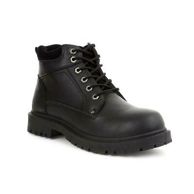 Beckett Mens Black Lace Up Boot - Sizes 6,7,8,9,10,11,12,13