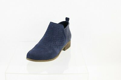 470ebd1a081 Toms Deia Forest Navy Suede Radial Ankle Boots Women s Shoes Size 8.5 M NEW