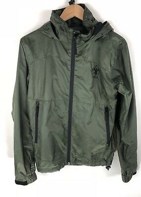 Boy Scouts Of America Official BSA Forest Green Adult Nylon Hoodie Jacket Sz XS