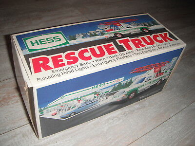 1994 Hess Collectible Rescue Truck Toy Free Shipping