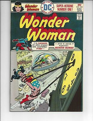 Wonder Woman 220 Bondage cover 1975 Justice League Chronos Atom Neal Adams cover