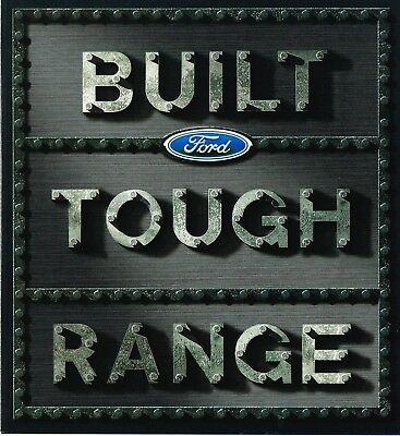 Ford Commercials Brochure 7 2001 Folder Inc Falcon Ute Fcl3081 Good Conditition