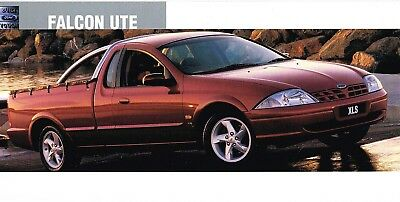 Ford Falcon Ute Brochure Order Card Brochure 2001? Auii Excellent Condition