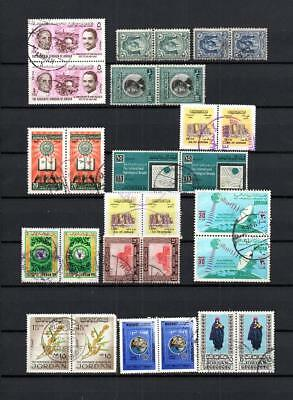 Jordan Collection Of Postally Used Stamps - Lot ( Jor 35)