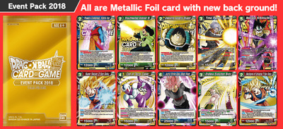 Dragon Ball Super Trading Card Game - Gold Event Packs - SEALED BOOSTER PACKS