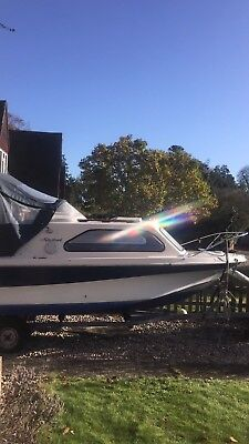 Shetland family 4 twin berth River Cruiser, good working order priced to sell