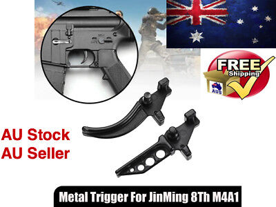Upgrade Metal Trigger For Toy Gel Ball Blaster JinMing Gen8 M4 M4A1 Scar V2 GBB