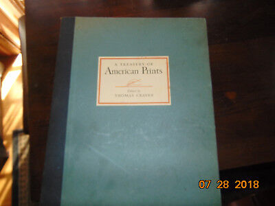 A Treasury Of American Prints Selection 100 Etchings Lithographs Thomas Craven
